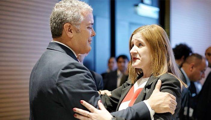 Sandra Devia es confirmada como gobernadora (e) de Córdoba por el Gobierno Duque