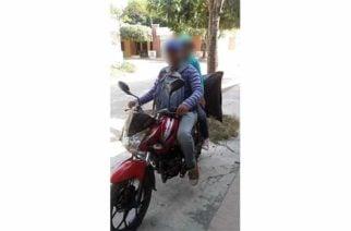 Se roban motocicleta de la terraza de una casa en Ayapel