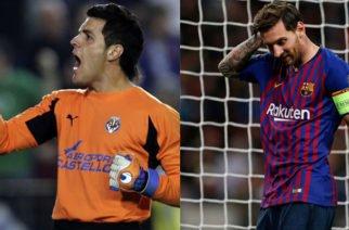 Sebastián Viera, uno de los porteros a los que Messi no pudo anotarle en España