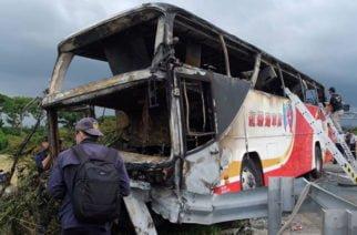 Siete heridos deja explosión por granada artesanal al interior de un bus en Guatemala