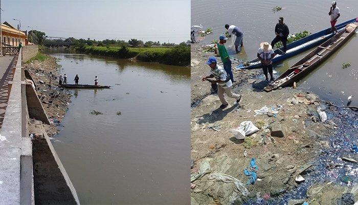Sociedad civil se une en pro del saneamiento del río Sinú en Lorica