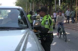 Más de 500 policías se encargarán de regular el tránsito en las vías de Montería