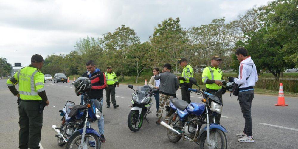 Positivo, así fue el balance de movilidad que reportó la policía de Montería en el primer festivo del año