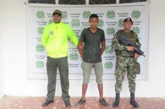 A la cárcel Las Mercedes envían a hombre capturado por porte de armas de fuego en Montelíbano