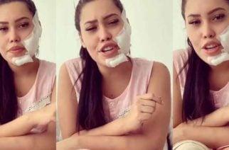 Vídeo: Ana del Castillo, canta, habla y agradece a sus fans por palabras de apoyo