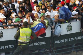 Así es el operativo de seguridad en el Venezuela Aid Live