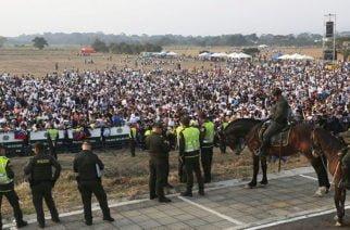 En imágenes: Así transcurre la llegada de personas a concierto en Cúcuta por Venezuela