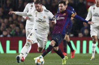 Barcelona y Real Madrid definen este miércoles el primer finalista de la Copa del Rey