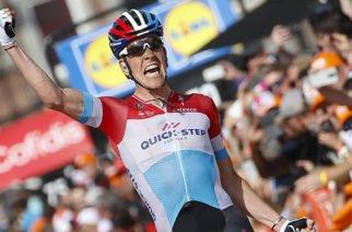 Bob Jungels, lidera el Tour Colombia 2.1