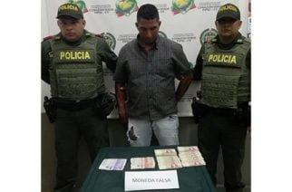 Capturado con casi 2 millones en billetes falsos en la terminal de Montería