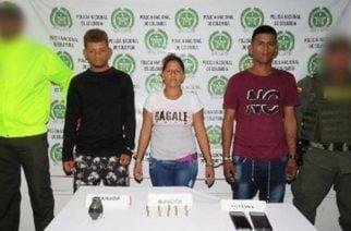 Capturan 3 integrantes de los 'Caparrapos' en Montelíbano