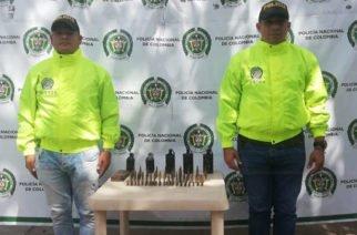 Vídeo: Cinco granadas y municiones para fusil y pistola fueron incautadas en Lorica y Planeta Rica