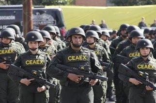 Comando Antiextorsión será enviado a Montelíbano y Tierralta