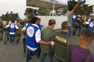 Cuatro militares venezolanos desertaron en Cúcuta para permitir la entrada de la ayuda humanitaria (Véalo en vídeo)