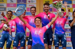 Education First lidera la apertura del Tour Colombia
