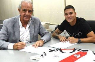 El volante colombiano Juan Fernando Quintero renovó contrato con River Plate