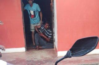 En Buenavista presunto ladrón quedó con la mano pendiendo de un hilo al ser 'macheteado'