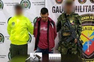En Planeta Rica capturan a un hombre por porte ilegal de armas de fuego