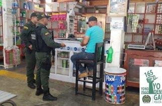 GAULA Policía Córdoba se tomó zona comercial de Tierralta con campaña preventiva