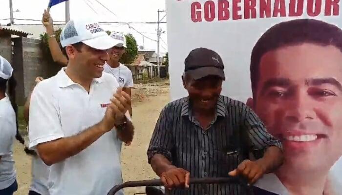 En pro del desarrollo del departamento de Córdoba Carlos Gómez socializa con las comunidades