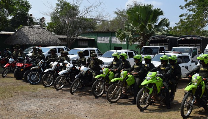 Más de 200 uniformados de Policía y Ejército Nacional garantizan seguridad en fiestas de Planeta Rica