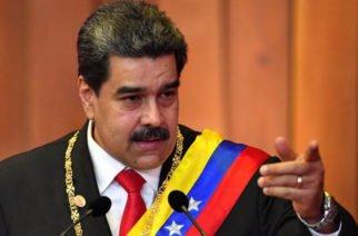 """Maduro realizará su propio concierto """"Manos fuera de Venezuela"""""""