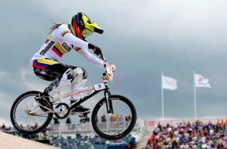 Mariana Pajón nuevamente en las pistas del BMX