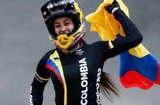 Mariana Pajón nuevamente triunfando en las pistas de BMX