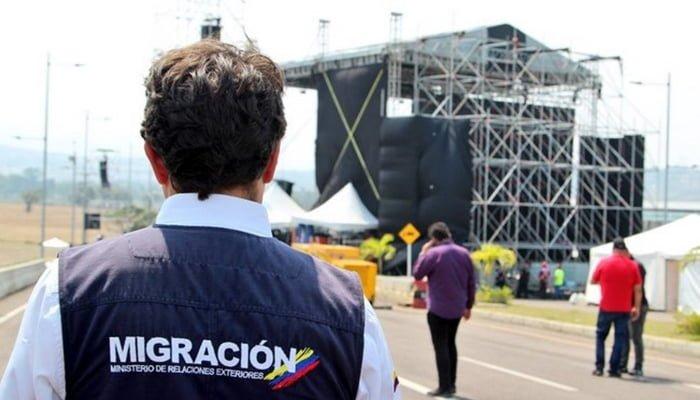 Migración Colombia extrema medidas para garantizar orden con motivo del concierto 'Venezuela Aid Live'