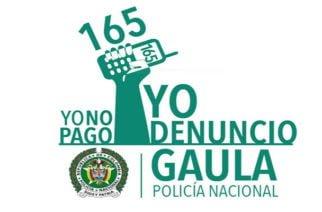 No caiga en la trampa, marque 165 GAULA Policía