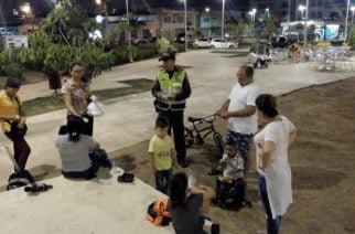 Oferta institucional de la Policía llega a barrio la Castellana