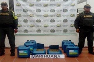 Policía incautó 100 kilos de marihuana en vía Planeta-Montería