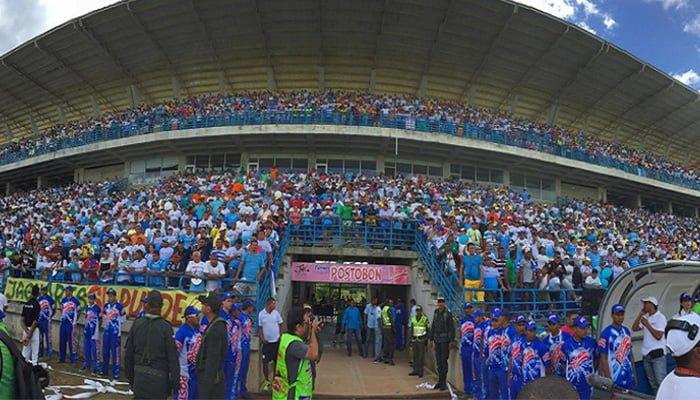 Se prohíbe ingreso de barras visitantes al estadio Jaraguay en Montería