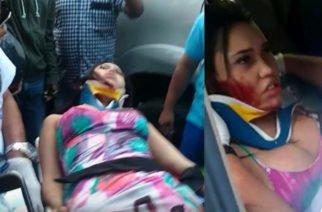 Una pelea habría ocasionado el accidente en el que se lesionó Ana del Castillo
