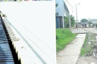 Robos, aguas putrefactas y calles en mal estado: el pan de cada día en la margen izquierda