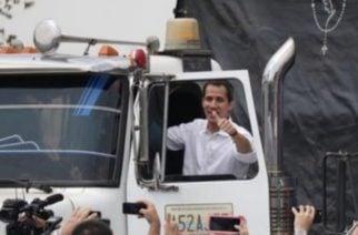 ¡Ya partió la ayuda humanitaria a Venezuela!