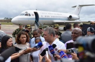 Duque viajó a Chocó para responder por la crisis