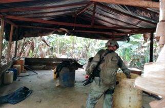 ¡Golpe al narcotráfico! Destruyen en Montelíbano cuatro laboratorios de droga que producían una tonelada al mes