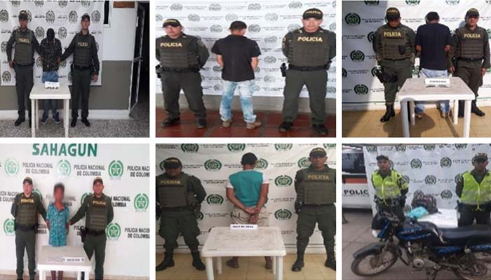 ¡Tregua sin cuartel! Policía ha incautado 264 mil dosis de estupefacientes en Córdoba