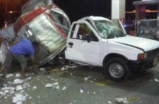 Camioneta en Cereté explotó mientras era tanqueada con combustible