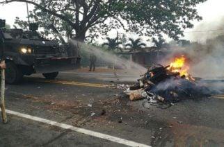 Campesinos heridos, detenidos y desaparecidos es el resultado de los disturbios de este viernes en La Apartada