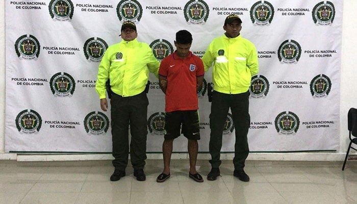 Capturan a alias 'Boca de pollo' indiciado del hurto de 5 millones de pesos a propietaria de una Litografía en Montería
