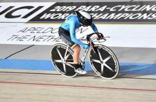 Carolina Munevar clasificó a la final de la persecución individual, categoría C2