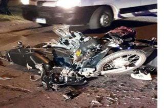 Choque de motos deja cuatro heridos en Chinú