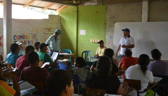 Construirán placa huella en Villa Nueva, zona rural de Puerto Libertador