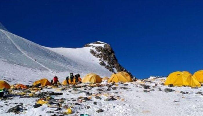 Deshielo en el Everest expone cadáveres de montañistas