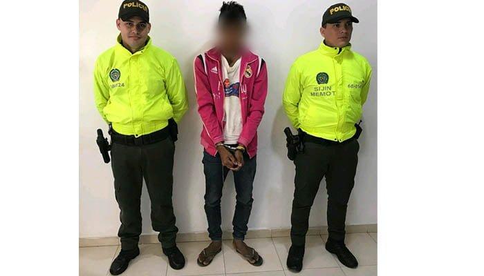 En Ciénaga de Oro capturan a un hombre por acceder carnalmente a menor de 14 años