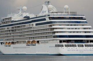 FOTOS: Seven Seas Explorer: El Crucero más lujoso del mundo llegó a Colombia