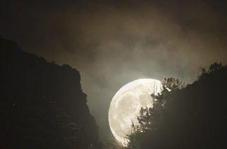 Fije su mirada al cielo que esta noche habrá superluna