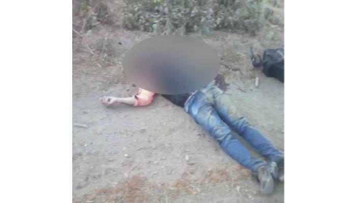 Hallan un cadáver baleado en zona rural de Montería
